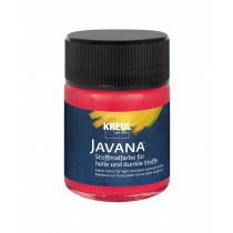 KREUL Javana Stoffmalfarbe für helle und dunkle Stoffe Cherry