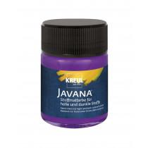 KREUL Javana Stoffmalfarbe für helle und dunkle Stoffe violett