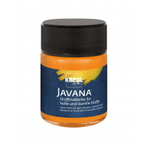 KREUL Javana Stoffmalfarbe für helle und dunkle Stoffe orange