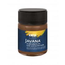 KREUL Javana Stoffmalfarbe für helle und dunkle Stoffe rehbraun
