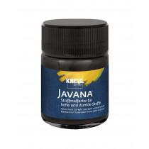 KREUL Javana Stoffmalfarbe für helle und dunkle Stoffe Schwarz