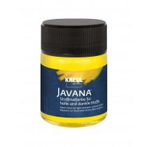 KREUL Javana Stoffmalfarbe für helle und dunkle Stoffe Gelb