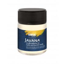 KREUL Javana Stoffmalfarbe für helle und dunkle Stoffe Vanille