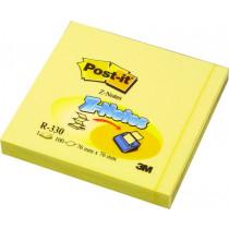 Haftnotizen Z-Notes gelb