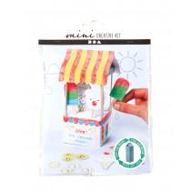 Mini-Kreativset Milchkarton-Eisdiele