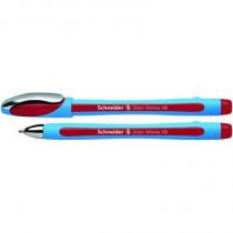 Schneider Kugelschreiber Slider Memo XB, Kappenmodell, Strichstärke: 1,5 mm, Schreibfarbe: rot