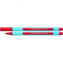 Schneider Kugelschreiber Slider Edge, Kappenmodell, Mine: Fluid-Paste, Strichstärke: 1,5 mm, Schreibfarbe: rot