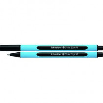 Schneider Kugelschreiber Slider Edge, Kappenmodell, Mine: Fluid-Paste, Strichstärke: 1,5 mm, Schreibfarbe: schwarz, dokumentenecht