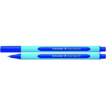 Schneider Kugelschreiber Slider Edge, Kappenmodell, Mine: Fluid-Paste, Strichstärke: 1,5 mm, Schreibfarbe: blau