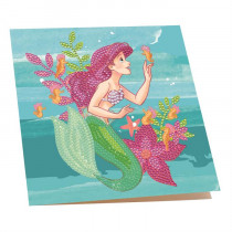 Crystal Art Card Disney Ariel