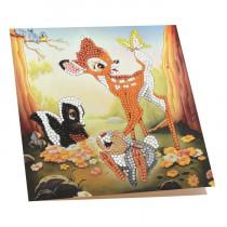 Crystal Art Card Disney Bambi & Friends
