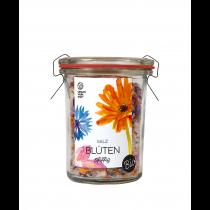 Blütensalz im Weck-Glas