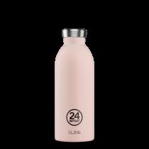 Trinkflasche Blasses Pink 0.5l