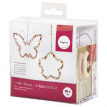 BP Deko Blume + Schmetterling