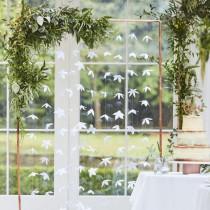 Hochzeitshintergrund - Origami Blumen