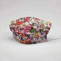 Schutzmaske Blumengruss