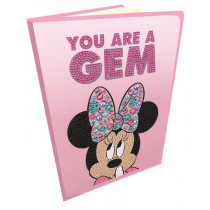 Crystal Art Disney Notizbuch Classic Minnie