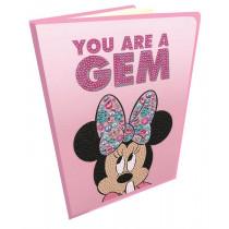 Crystal Art Disney Notizbuch Classic Minnie