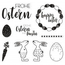 Clear Stamps-Osterfreude