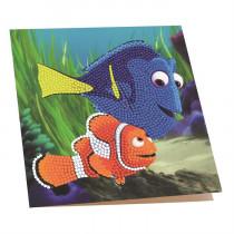 Crystal Art Card Disney Dory and Marlin