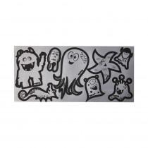 ergobag Reflexie-Sticker silber