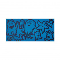 ergobag Reflexie-Sticker blau