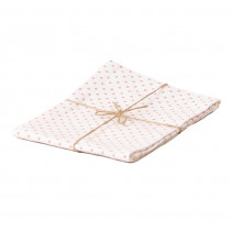 Baumwoll Küchentuch mit rosa Punkten