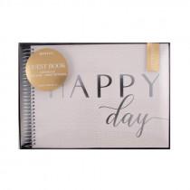 Gästebuch Happy Day
