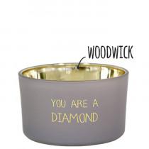 "Kerze ""You are a diamond"""