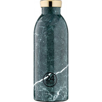 Trinkflasche Green Marble 0.5l