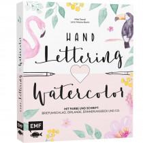 Handlettering und Watercolor
