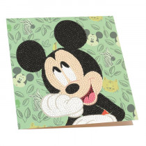 Crystal Art Card Disney Happy Mickey