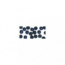 Holzperlen 8 mm ø dunkellblau