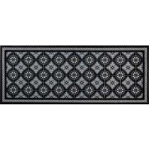 Fussmatte 75x190 cm Kitchen Tiles black