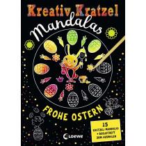 Kreativ-Kratzel Mandalas Frohe Ostern