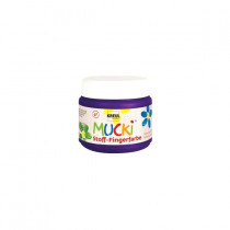 MUCKI Stoff-Fingerfarbe Violett 150 ml
