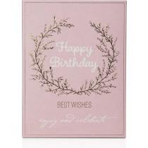 Entspannende Tuchmaske Happy Birthday