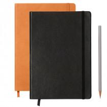 Leuchtturm1917 Notizbuch Special Edition Medium Hardcover mit Echtleder A5