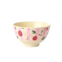 Cherry Print Bowl Small Rice