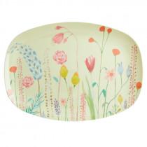Summer Flowers Print Platte Rice