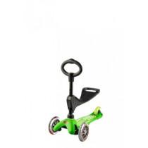 Mini Micro 3in1 Deluxe Grün mit Sitz