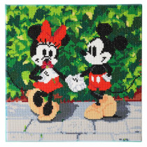 Bastelset Crystal Art Disney Minnie and Mickey