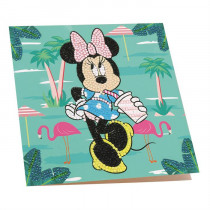 Crystal Art Card Disney Minnie on Holiday