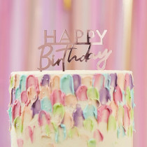 Tortendeko Happy Birthday