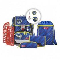 2in1 Plus Schulrucksack Set 6teilig Soccer Team