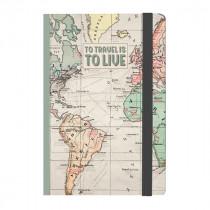 Notizbuch 17 x 24 cm Travel