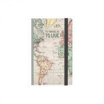 Notizbuch 10 x 14 cm Travel