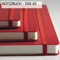 Leuchtturm1917  Notizbuch MEDIUM (DIN A5), Ausführung Rot