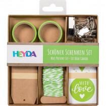 Verpackungs-Set Schöner Schenken grün