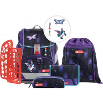2in1 Plus Schulrucksack Set 6teilig Pegasus Dream